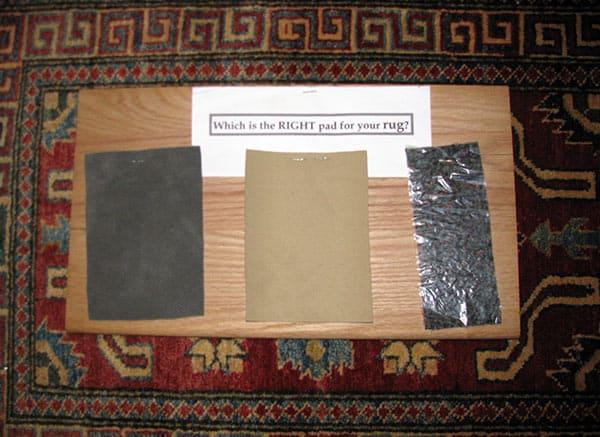 A. J. Khouri Oriental Rug Padding